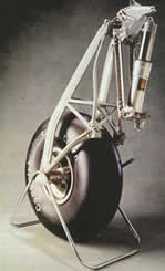 Charles Kingsford Smith's Airplane's Undercarriage Leg and Wheel