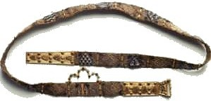 Elizabeth Barton's Leather Belt