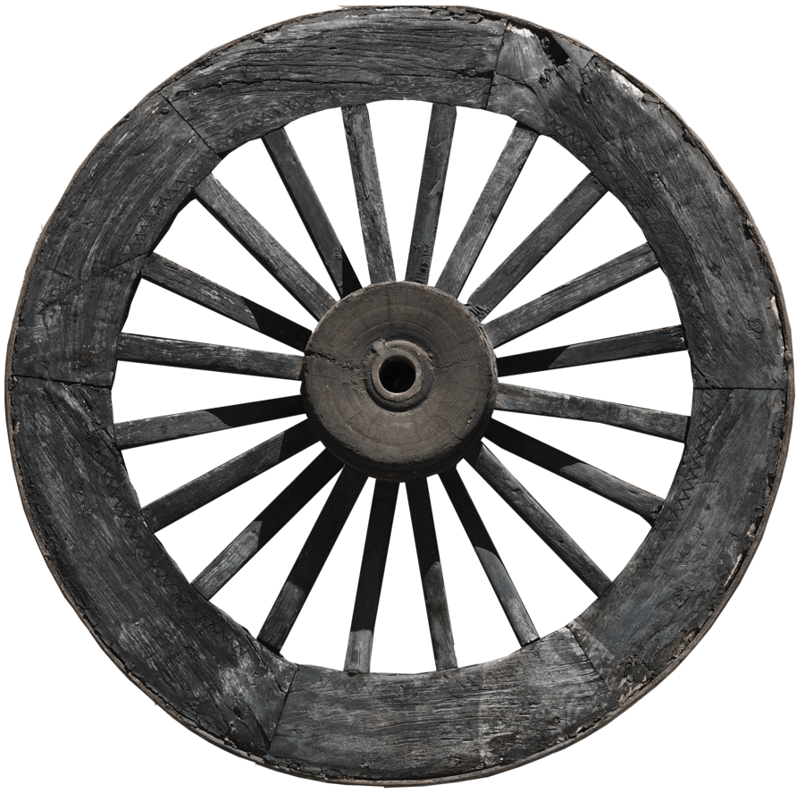 Jemmy Hirst's Carriage Wheel