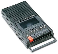 Danny Casolaro's Tape Recorder