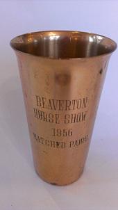 1956 Beaverton Horse Show Trophy
