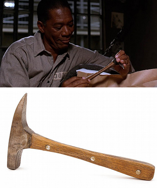 Andy Dufresne's Rock Hammer