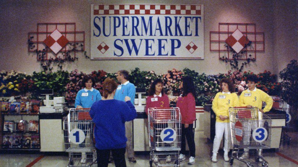 Supermarket Sweep Shopping Carts