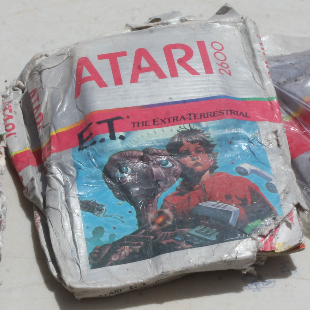 "Copy of ""E.T. the Extra-Terrestrial"" from the Alamogordo Landfill"