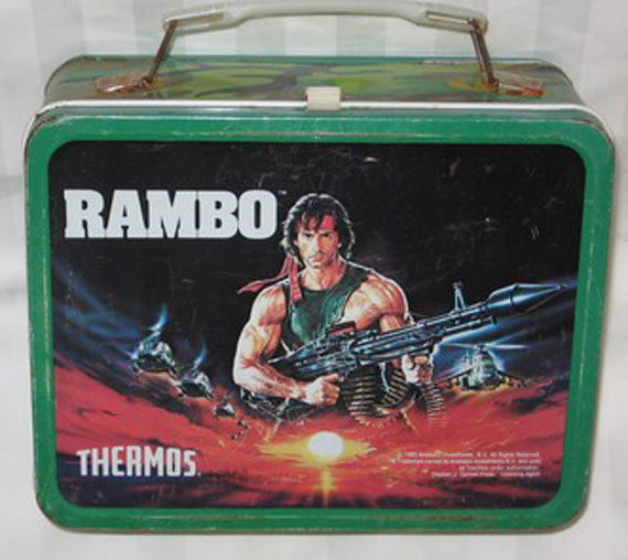 Aggressive Metal Lunchbox