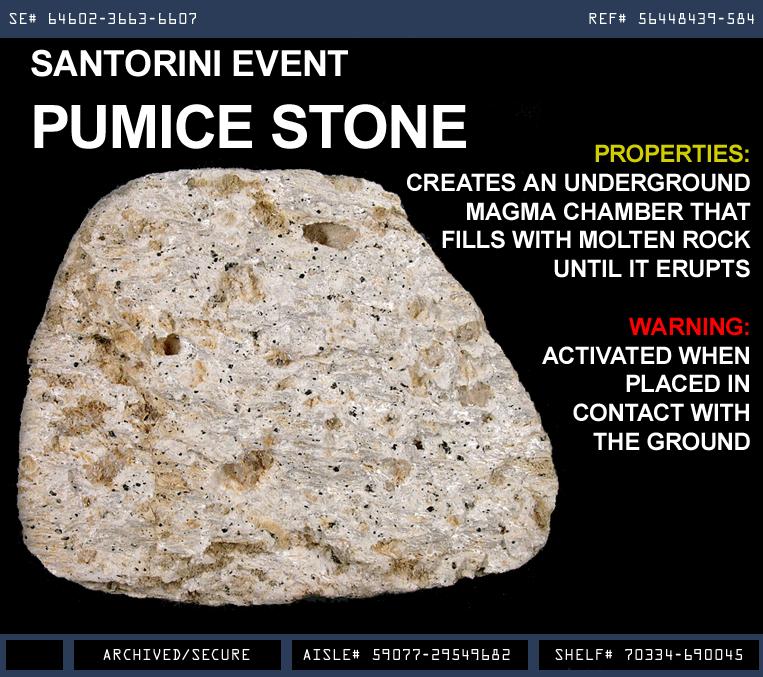 Santorini Event Pumice Stone