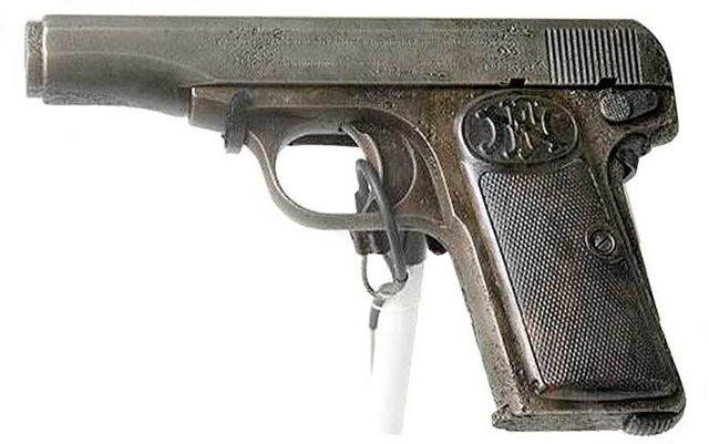 Gavrilo Princip's FN-Model 1910 Pistol
