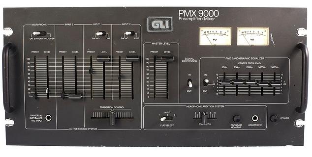 1977 NYC Blackout DJ Mixer