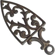Cast iron pressing trivet