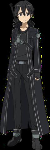 Kirito's Blackwyrm Coat