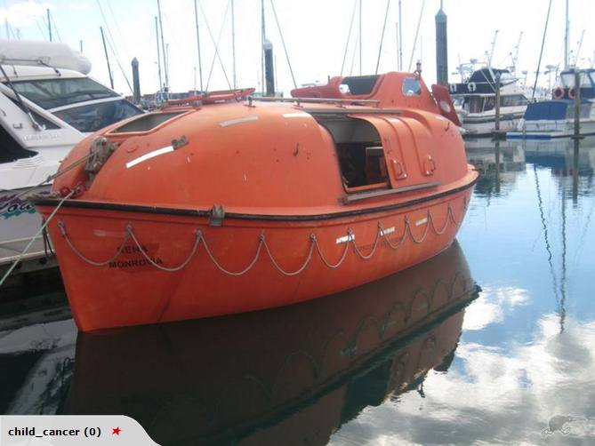 MV Maersk Andaman's Lifeboat