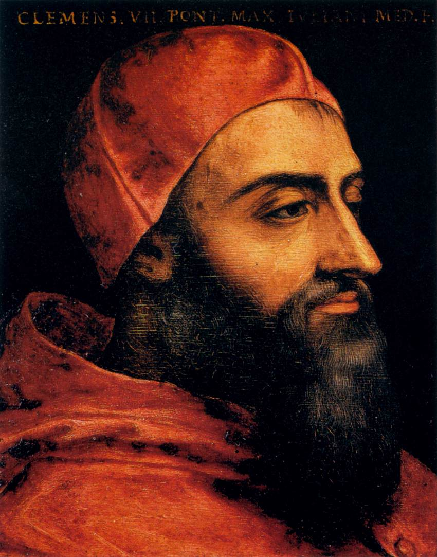 Pope Clement VII's Zucchetto