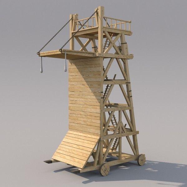 Primo di Castello's Siege Engine
