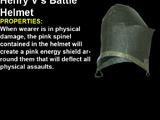 Henry V's Battle Helmet