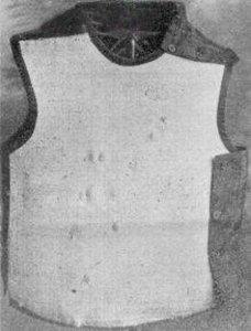 Casimir Zeglen's Bulletproof Vest