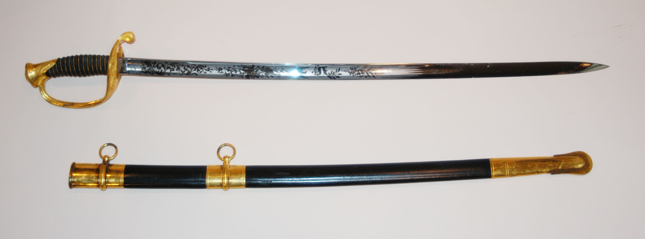 William Newton McComb's Infantry Sword