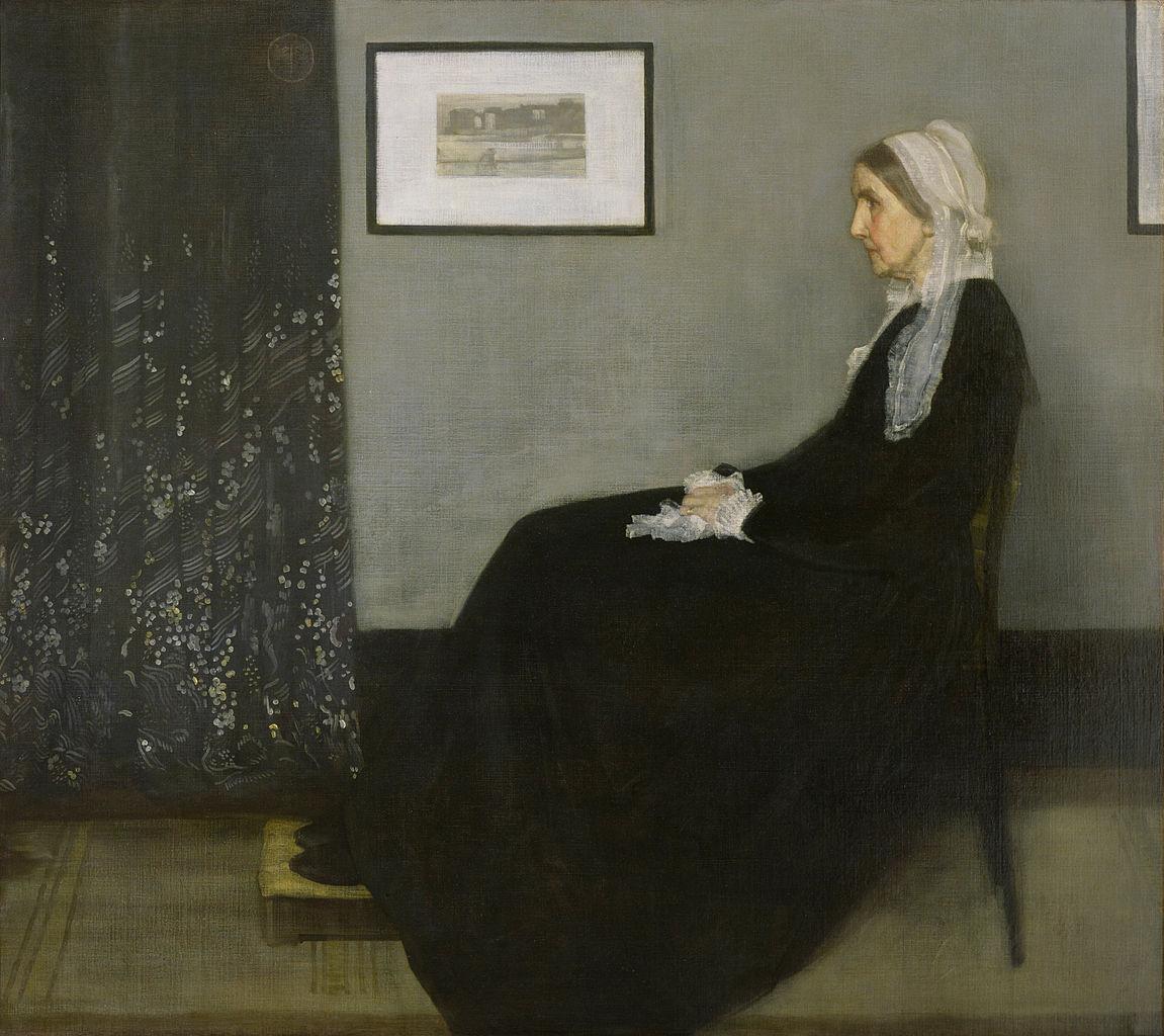 """James Abbott McNeill Whistler's """"Whistler's Mother"""""""