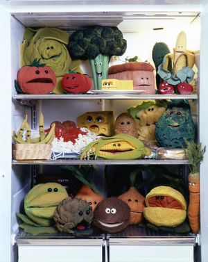 Jim Henson's Talking Food Muppets