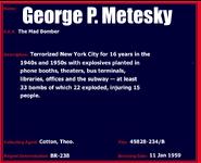 Metesky redone