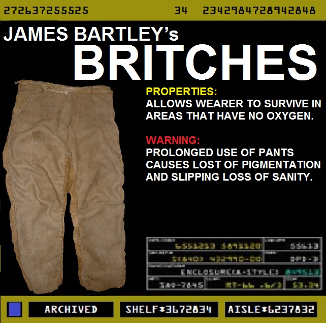 James Bartley's Britches