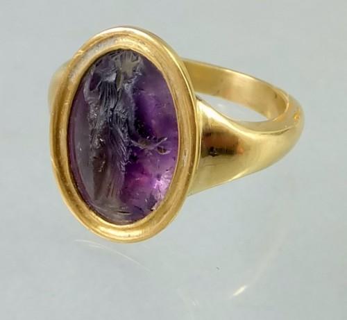 Saint Valentine's Amethyst Ring