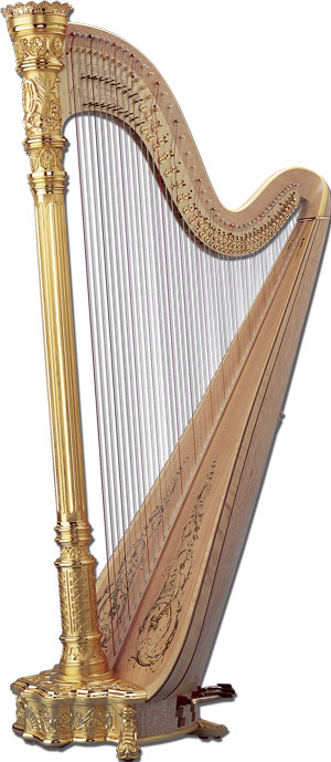 Glafira Alymova's Harp
