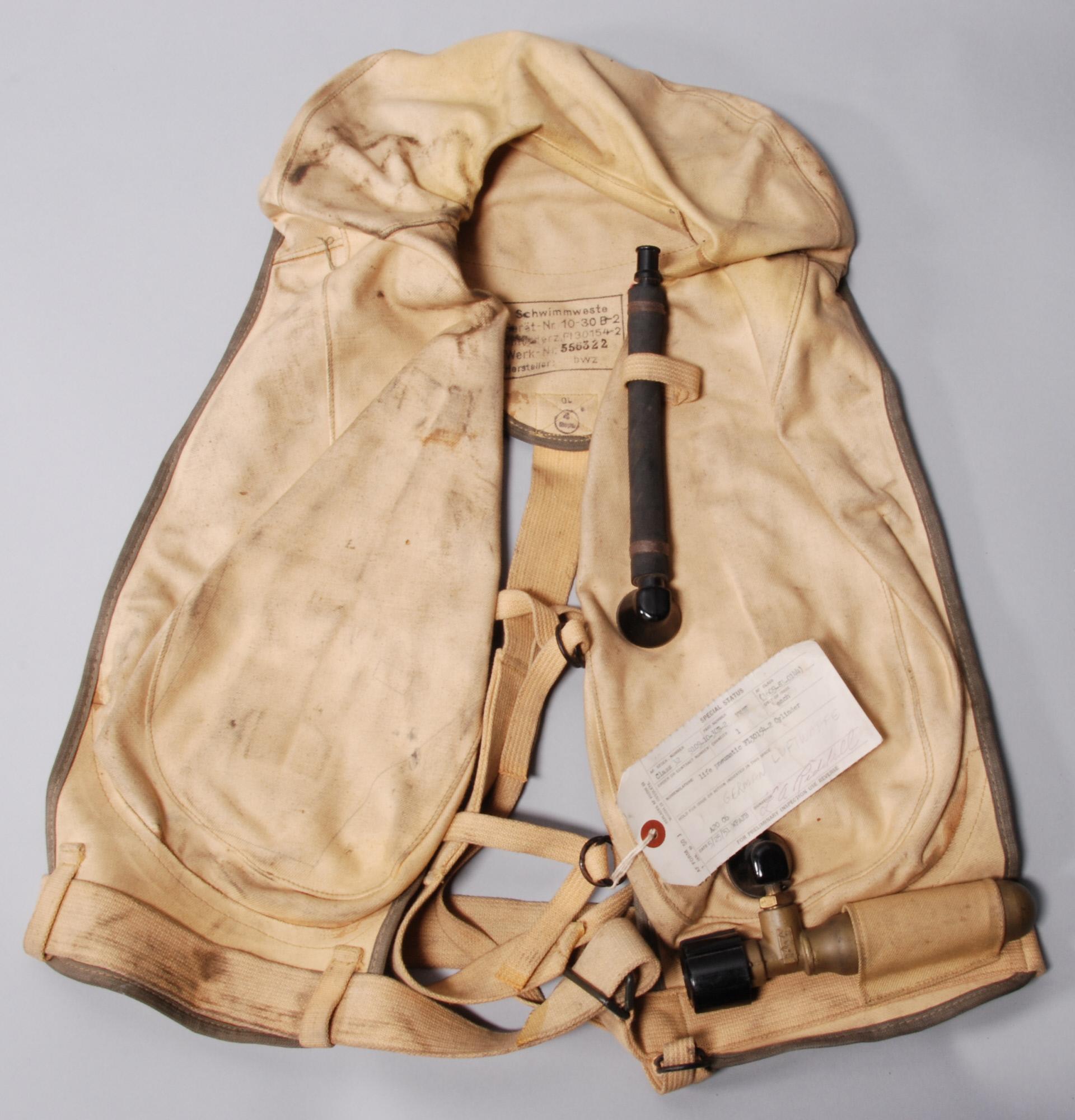 Bob Braham's Lifejacket