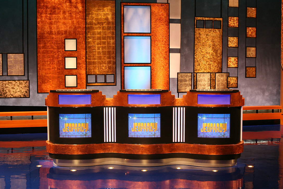 Jeopardy! Contestant Podiums