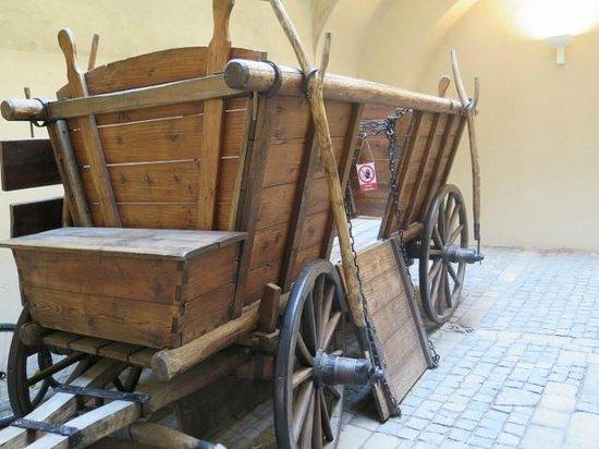 Jan Žižka's Wagenburg Wagons