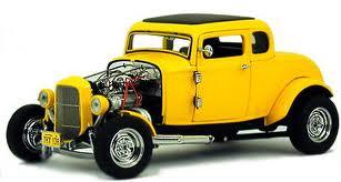 John Milner's Yellow '32 Ford Deuce Coupe