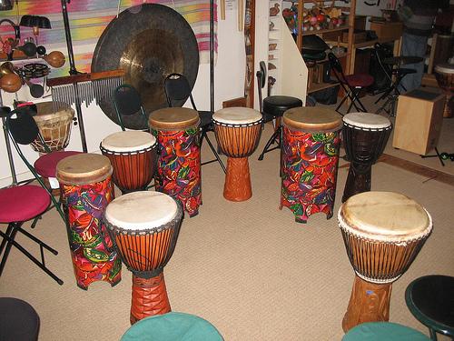 Hippie Drum Circle