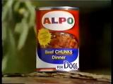 Original Alpo Dog Food Can