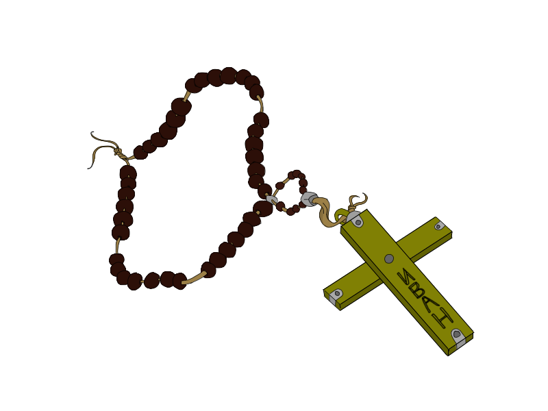 Ivan the Terrible's Gold Rosary