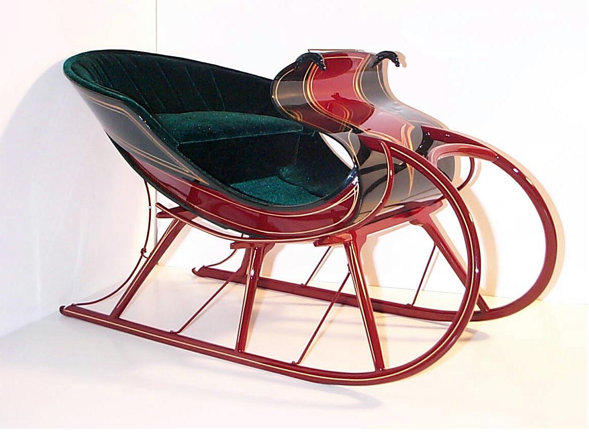 Hans Christian Anderson's Sled