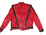 Michael Jackson's Red and Black Jacket