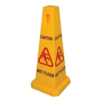 Hygroscopic Wet Floor Sign