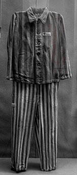 Alfred George Hinds' Prison Uniform