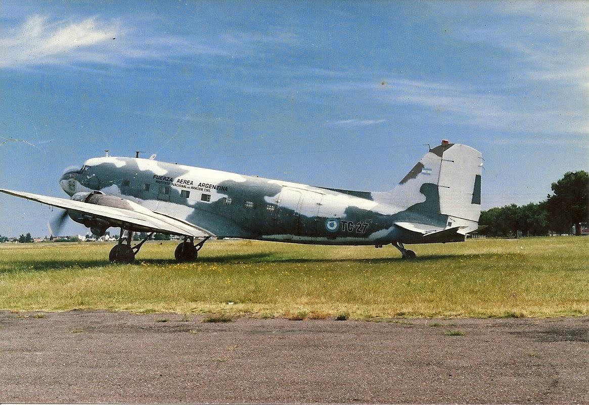 Luis María Mendía's Airplane