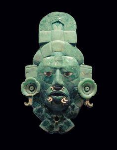Mayan Divine King's Mask