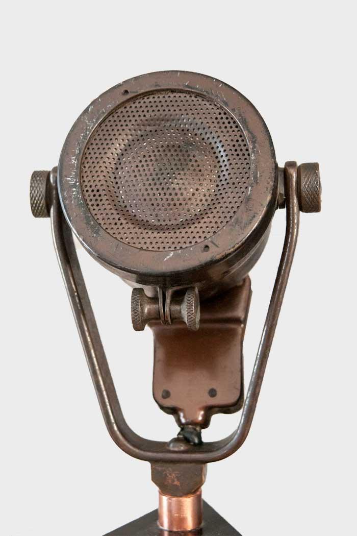 Herbert Morrsion's Microphone