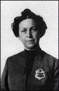 Alice Stebbins Wells' Police Badge