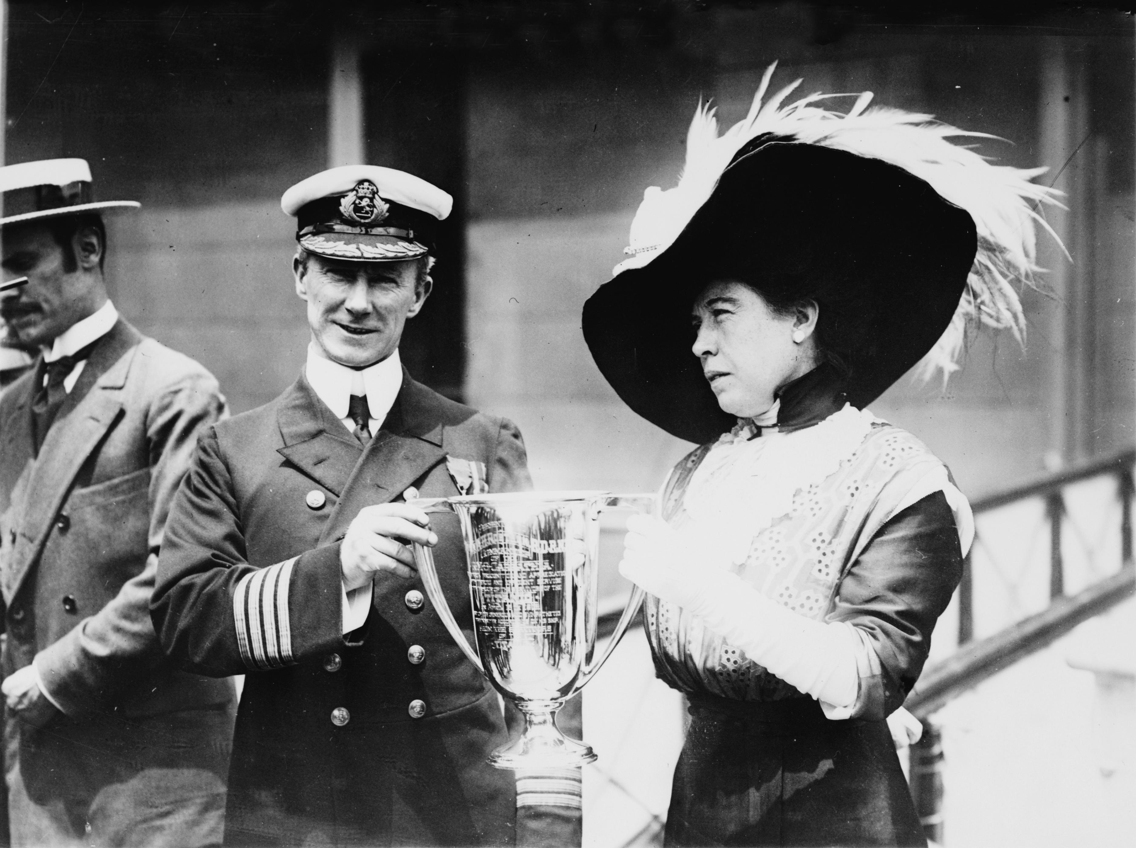 Arthur Rostron's Loving Cup