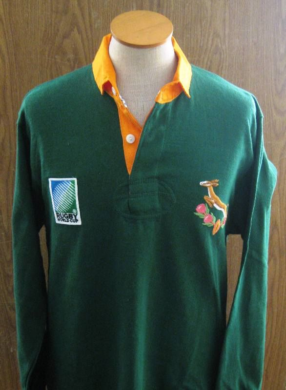 Nelson Mandela's Rugby Jersey