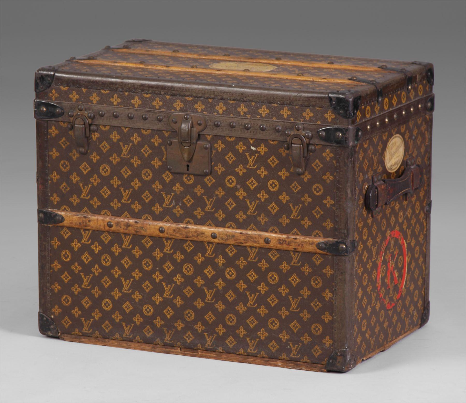 Louis Vuitton's Suitcase