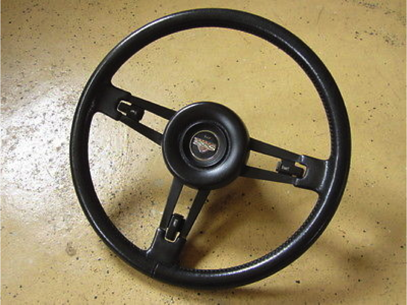 Don Bolles' Steering Wheel