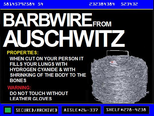 Barbwire from Auschwitz