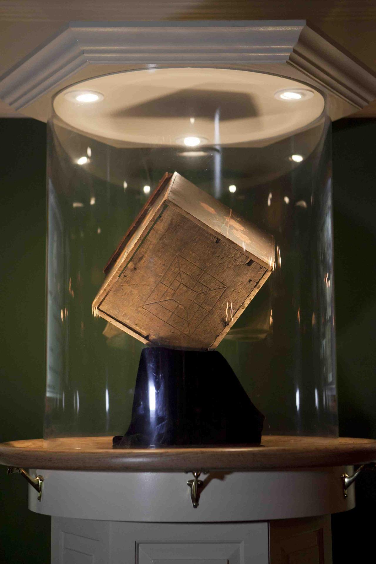 Tea Box from the Boston Tea Party