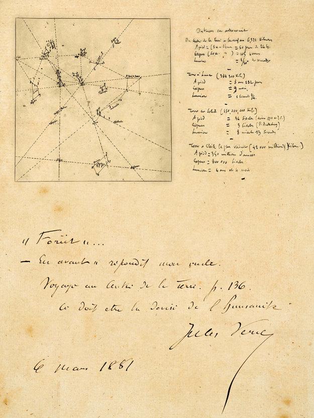 Jules Verne's Original Manuscripts