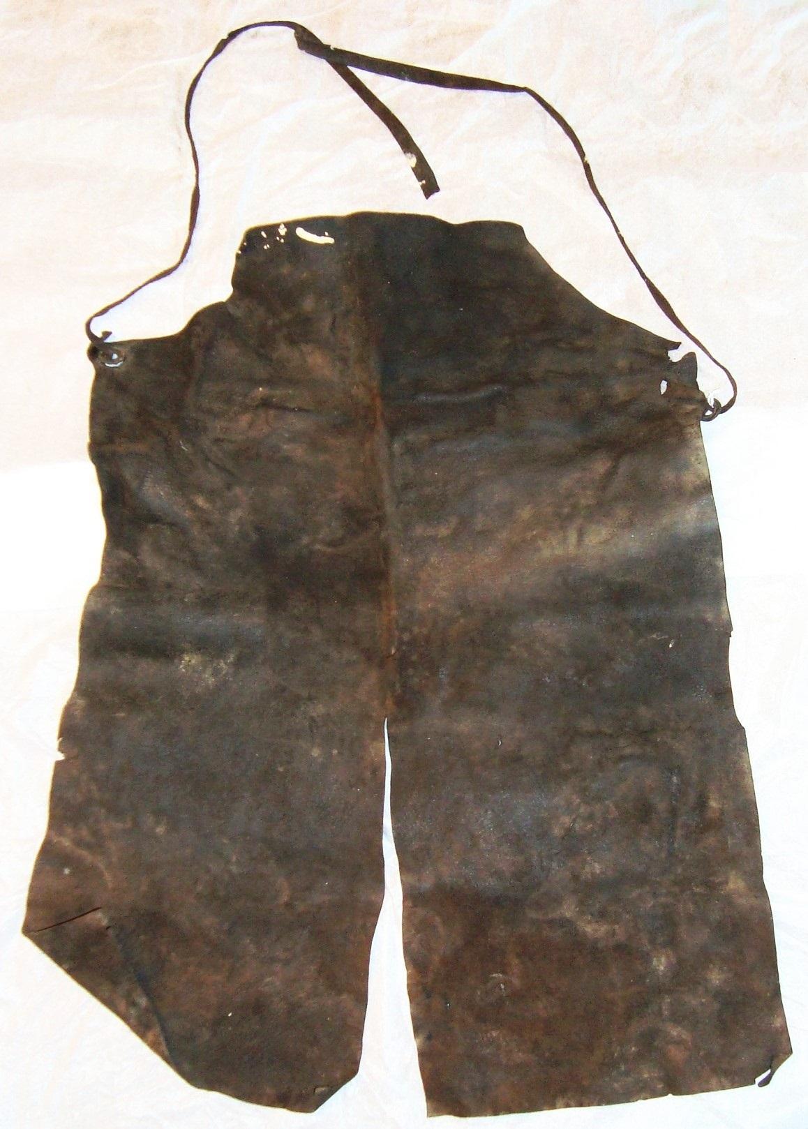 Ulrich Rülein von Calw's Leather Mining Apron