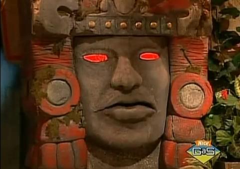 "Olmec from ""Legends of the Hidden Temple"""